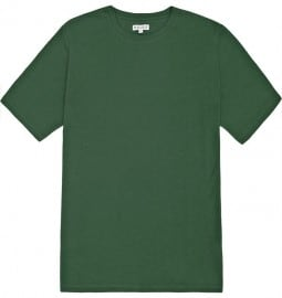 Reiss Bless Basic Crew Neck Tee Dark Green