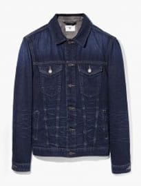 He By Mango Dark Denim Jacket