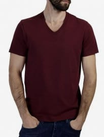 Burton Wine Basic V-neck T-shirt