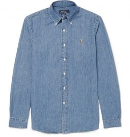 Polo Ralph Lauren Slim-fit Cotton-chambray Shirt