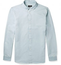 A.p.c. Button-down Collar Chambray Shirt