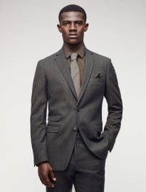 Jigsaw Mini Herringbone Slim Tailored Jacket