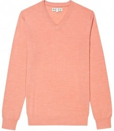 Reiss Hinks Merino V-neck Jumper