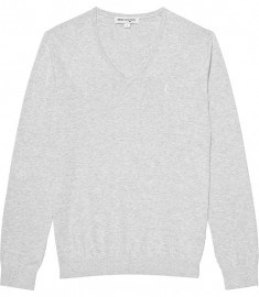 Reiss Hurst Logo Vee Neck Jumper