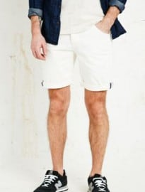 Anerkjendt Mate Denim Shorts In White