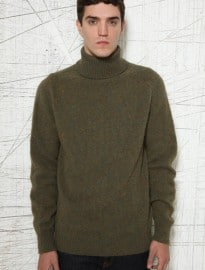 Ymc Fenland Roll Neck Knit Sweater