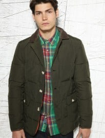 Penfield Olive Cord Collar Banks Blazer