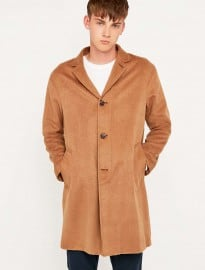 Shore Leave By Urban Outfitters Lucifer Classic Camel Overcoat