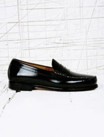 Bass Weejuns Larson Loafers In Black