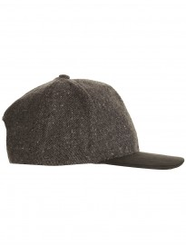 Topman Grey Tweed Snap Back