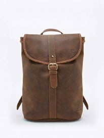 Forbes & Lewis Littlehampton Leather Backpack In Brown