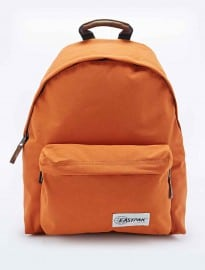 Eastpak Pakr Padded Backpack In Orange