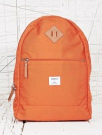 Sandqvist Enzo Canvas Backpack In Orange