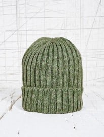 Watchman Beanie Hat In Green
