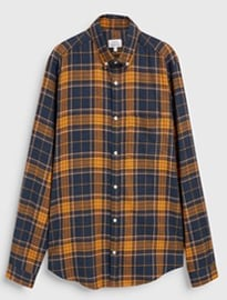 Next Long Sleeve Flannel Check Shirt