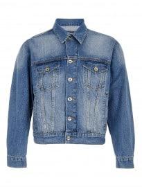 Topman Oversized Denim Western Jacket