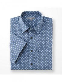 Uniqlo Men Printed Short Sleeve Shirt