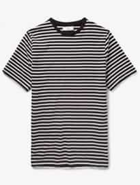 Ami Striped Cotton T-shirt