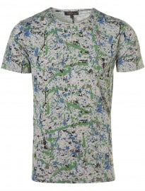 Topman Villain Splash T-shirt