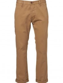 Topman Stone Cotton Slim Chino