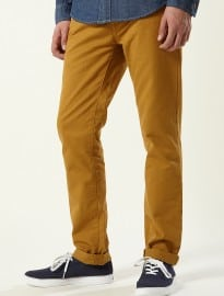 Topman Golden Brown Skinny Chinos
