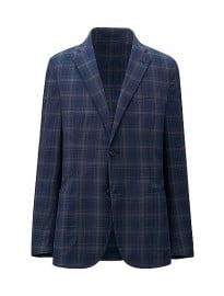 Uniqlo Men Light Cotton Check Jacket