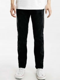 Topman Black Regular Slim Fit Jeans