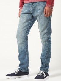 Topman Premium Light Wash Carrot Jeans