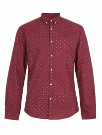 Topman Selected Homme Dot Shirt