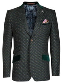 Ted Baker Tavada Wool Patterned Blazer