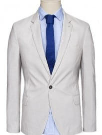 He By Mango Cotton Blazer