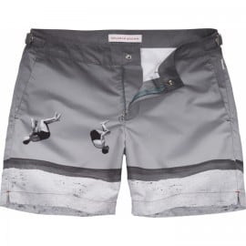Ob Bulldog Swim Short - Mid-length - Photographic