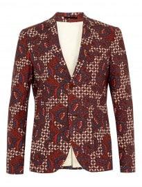 Topman Multi Floral Skinny Blazer
