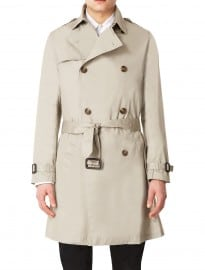 Topman Stone Trench Coat