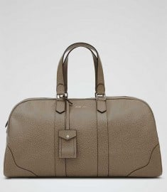 Reiss Sawboss Large 48 Hour Holdall Whale Grey