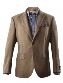 Light Brown Brushed Donegal Jacket