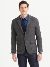 J. Crew Wallace & Barnes Hunting Blazer In English Wool