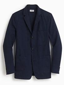 J. Crew Wallace & Barnes Garment-dyed Chore Blazer
