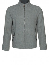 Harris Tweed Clothing Harrington - Light Jacket - Grey