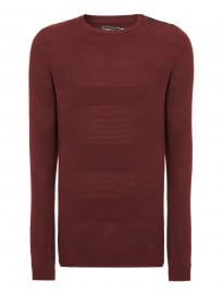 Jack & Jones Mens Crew Neck Bush Knit
