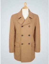 Peter Werth Penn Long Length Reefer Coat