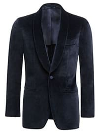 Suitsupply Dinner Jacket Blue Plain