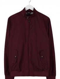Burton Menswear London Harrington - Summer Jacket - Beetrot