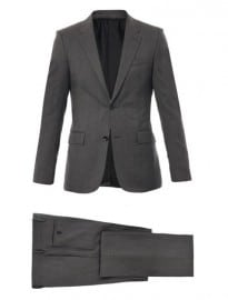 Balenciaga Fantasia Wool Two Button Suit 168964