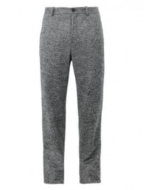 Public School Tweed Wool Trousers