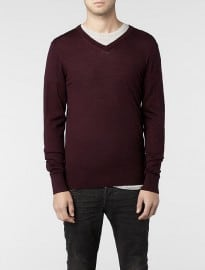 Allsaints Mode Merino V-neck Jumper