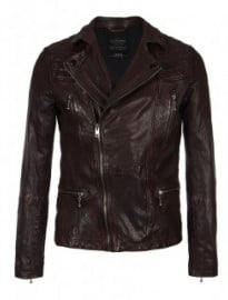 Allsaints Callerton Leather Biker Jacket