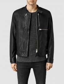 Allsaints Howard Leather Biker Jakcet
