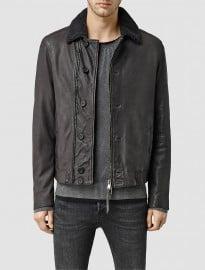Allsaints Mortar Leather Biker Jacket