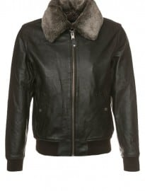 Schott Nyc Leather Jacket - Brown